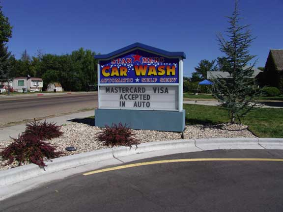 Star Merc Car Wash Star Idaho Invisible Structures