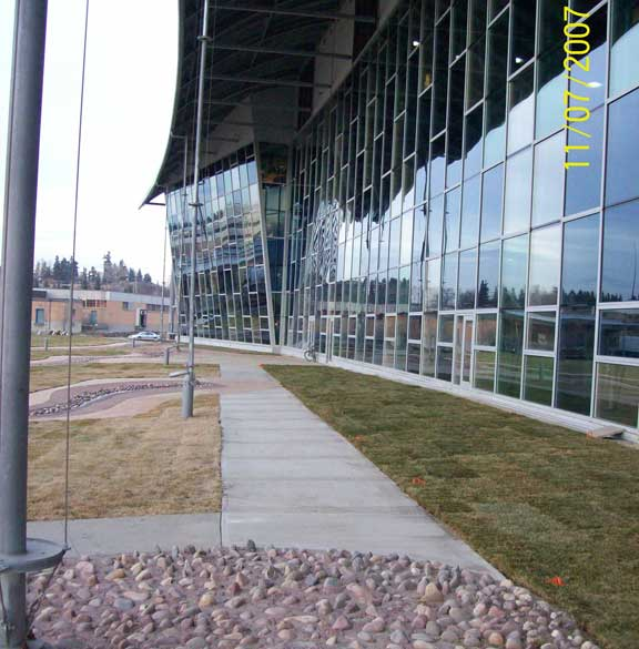 Invisible Structures: City Of Calgary Water Resources Building, Calgary, Alberta