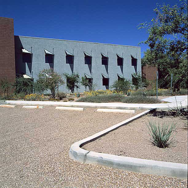 Gravel Pavers were installed on the parking lot at the Nature Conservancy, Tucson, Arizona, using Gravelpave2.