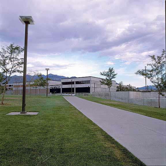 Turf Pavers were installed in the fire lane access areas using Grasspave2.