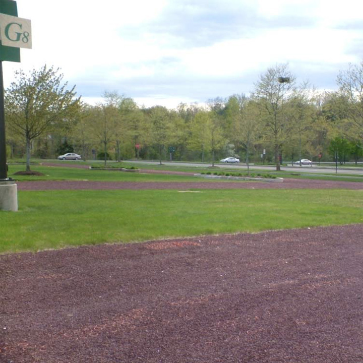 Aggregate Paving and Grass Paving were installed in the parking areas at Westfarms Mall, West Hartford, Connecticut, using Gravelpave2 and Grasspave2.
