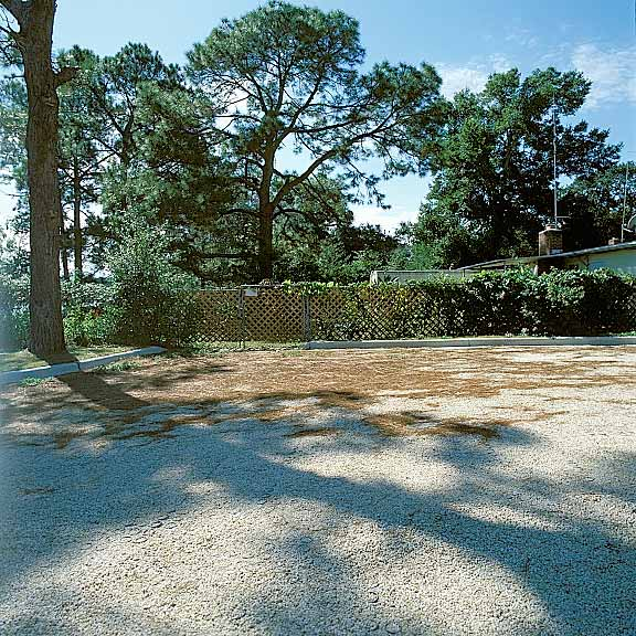 Permeable Pavers were installed in Juanita Williams Park parking lot using Gravelpave2.