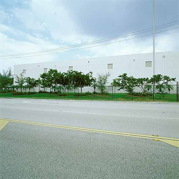 Permeable Paving was installed in fire lane access areas at the Miami International Waste Handling Facility in Miami, Florida, using Grasspave2.