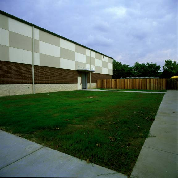Porous Paving was installed in the fire lane access areas at Shoreline Christian School in Austin, Texas, using Grasspave2.