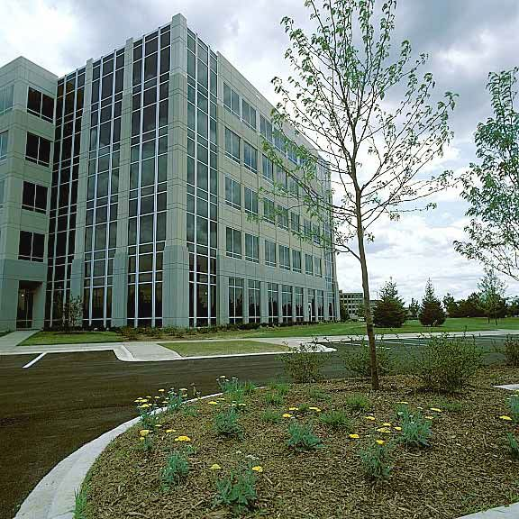 A Porous Fire Lane was installed in the fire lane access areas at Cantera in Warrenville, Illinois, using Grasspave2.