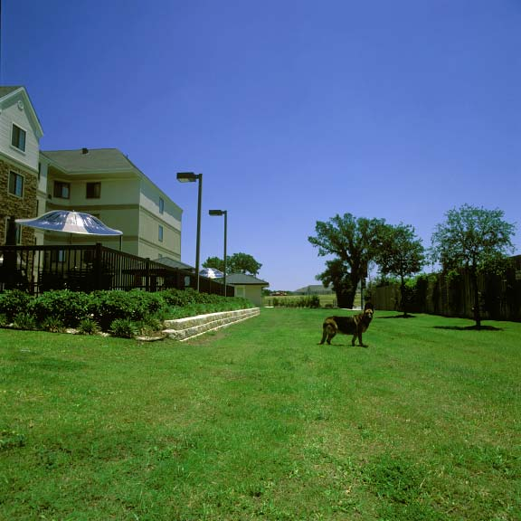 Grass Fire Lane was installed at the Staybridge Suites in Round Rock, Texas, using Grasspave2.