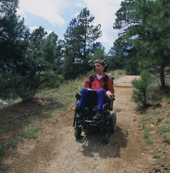 Gravel Reinforcement was installed in Skylar's Trail, Nederland, Colorado, using Gravelpave2.