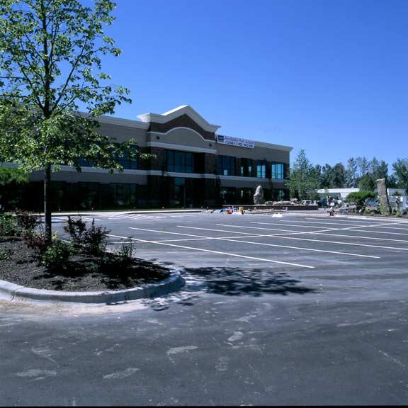 Underground-Water Storage was installed at the North Channel Center, Office Bldg. #1, Eagle, Idaho, using Rainstore3.
