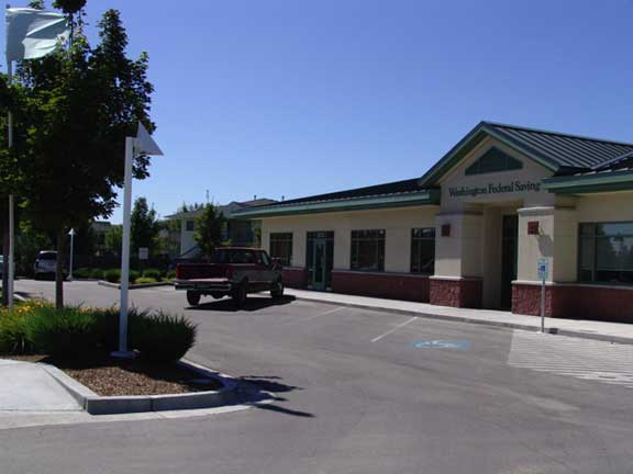 Stormwater Storage was installed at Washington Federal Savings and Loan, Eagle, Idaho, using Rainstore3.