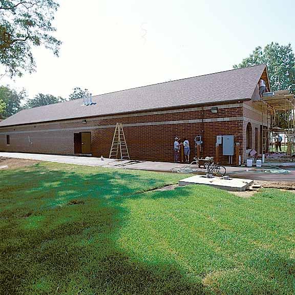 Underground-Water Storage was installed at Wald Lake Car Wash, Wixom, Michigan, using Rainstore3.