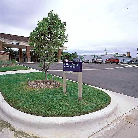Underground-Rain-Water Storage was installed at the Makatawa Bank, Hudsonville, Michigan, using Rainstore3.