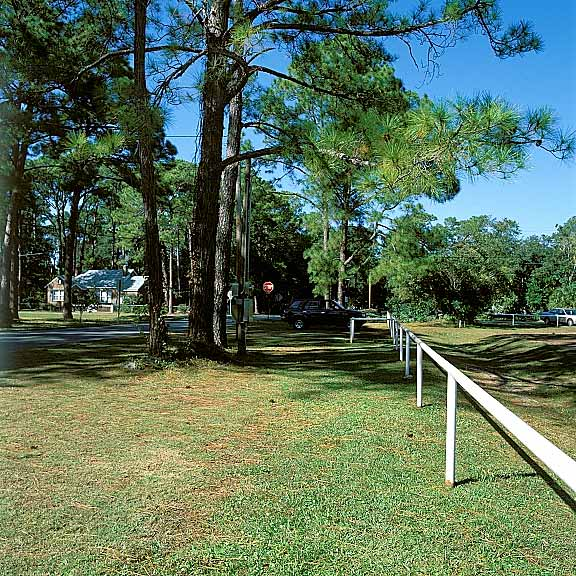 Pervious Pavers were installed in the parking lot of Civitan Park, Pensacola, Florida, using Grasspave2.