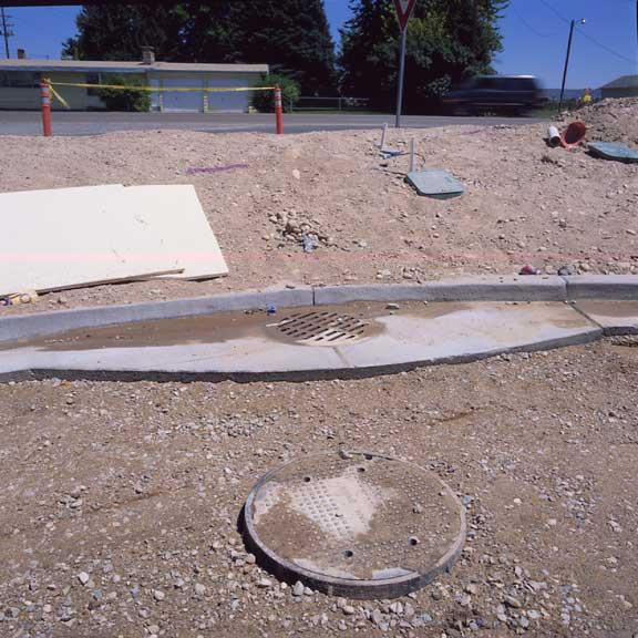Rainwater Storage was installed at the Maverik Store and Gas Station, Nampa, Idaho, using Rainstore3.