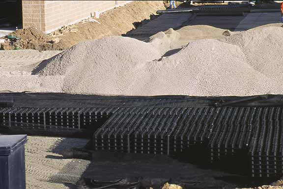 Underground-Rainwater Storage was installed at International Governor, Broomfield, Colorado, using Rainstore3.