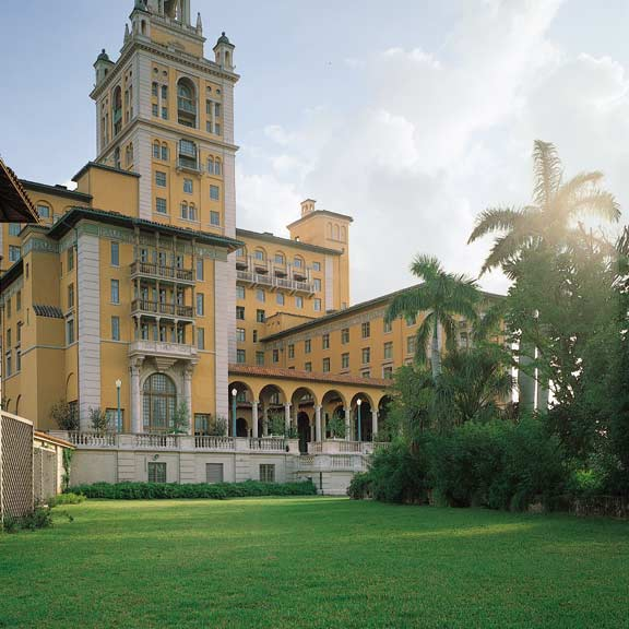 Grass Pavement was installed in the fire lane access areas at the Biltmore Hotel in Coral Gables, Florida, using Grasspave2.