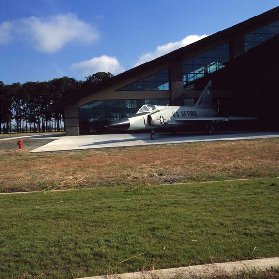 Pervious Pavers were installed in the fire lane access of the Evergreen Aviation Museum, McMinnville, Oregon, using Grasspave2.