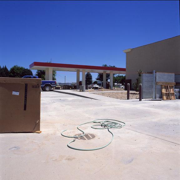 Stormwater Storage was installed at the Maverik Store and Gas Station, Nampa, Idaho, using Rainstore3.