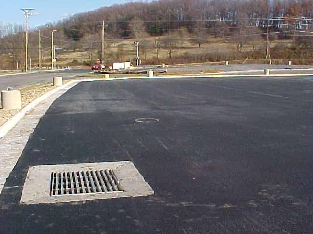 Stormwater Chamber was installed at Joe Bowman Chevrolet, Harrisonburg, Virginia, using Rainstore3.