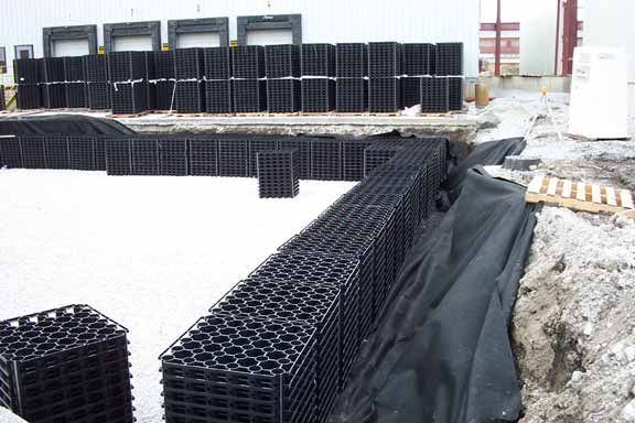 An Underground Cistern was installed at Nufarm Manufacturing, Chicago Heights, Illinois, using Rainwater3.