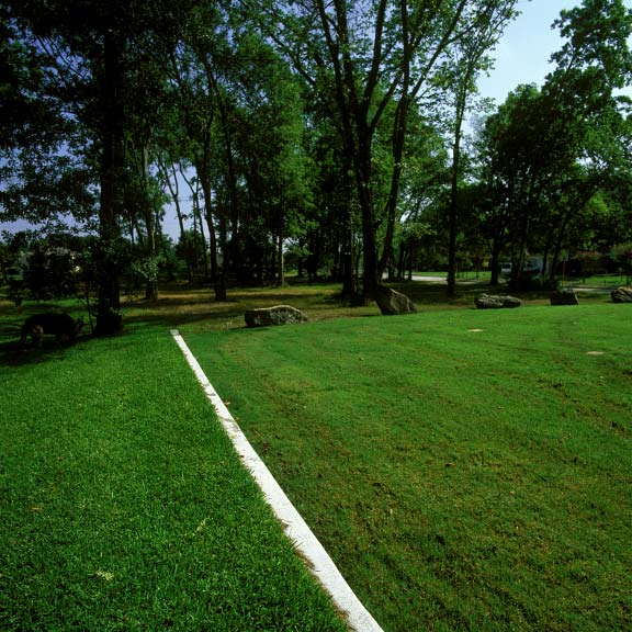 Grass pavement was installed in the parking lot at the Jersey Baptist Church in Houston, Texas, using Grasspave2.