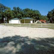 Aggregate paving was used at Juanita Williams Park, Pensacola, Florida, using Gravelpave2.