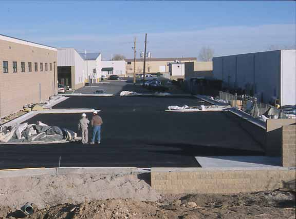 Subsurface-Water Storage was installed at International Governor, Broomfield, Colorado, using Rainstore3.