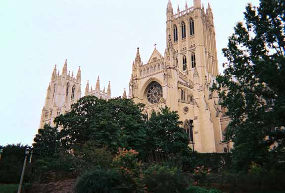 Subsurface-Water Detention was installed at the National Cathedral using Rainstore3.