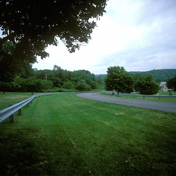 Permeable Parking was installed to provide additional event parking areas at Fox Chapel Area High School, Pittsburgh, Pennsylvania, using Grasspave2.