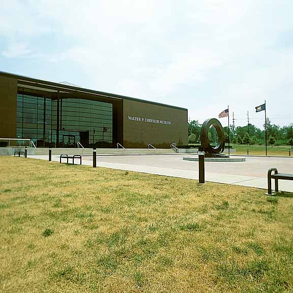 A Grass-Reinforcement System was installed in the fire lane access areas at the Walter P. Chrysler Museum in Pontiac, Michigan, Grasspave2.