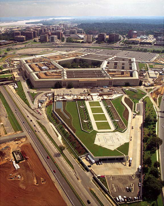 Grass pavement was installed for parking helicopters at the Pentagon RDF and Pentagon Building in Arlington, Virginia, using Grasspave2.