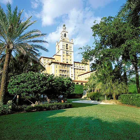 Permeable Paving was installed in the fire lane access areas at the Biltmore Hotel in Coral Gables, Florida, using Grasspave2.