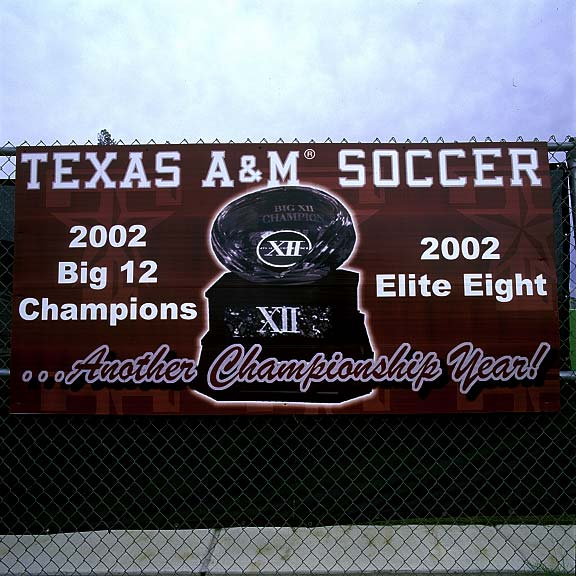 A Drainage System was installed at Texas A & M Women's Soccer field in College Station, Texas, using Draincore2.