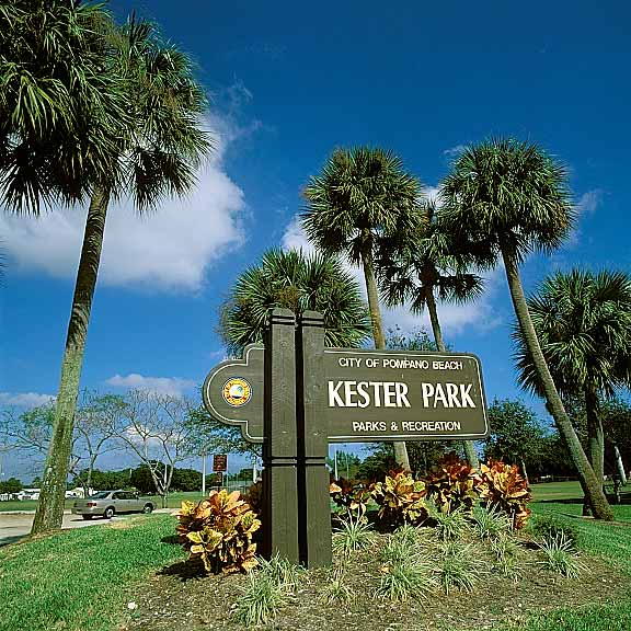 Gr Pavers Were Installed In The Parking Areas At Kester Park Pompano Beach Florida