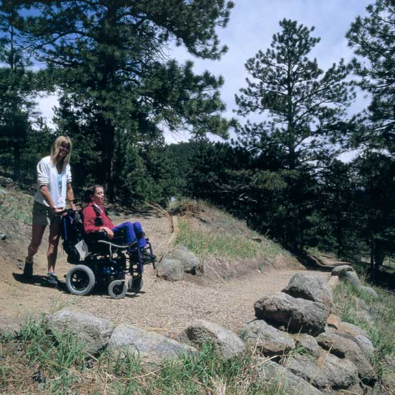 Aggregate Paving was installed in Skylar's Trail, Nederland, Colorado, using Gravelpave2.