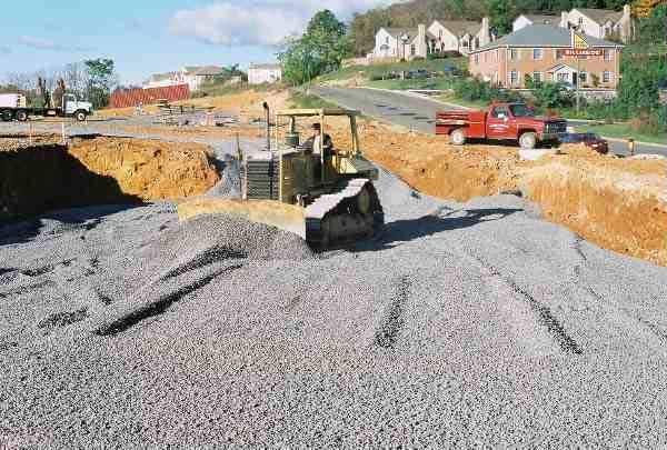 Stormwater Storage was installed at Joe Bowman Chevrolet, Harrisonburg, Virginia, using Rainstore3.