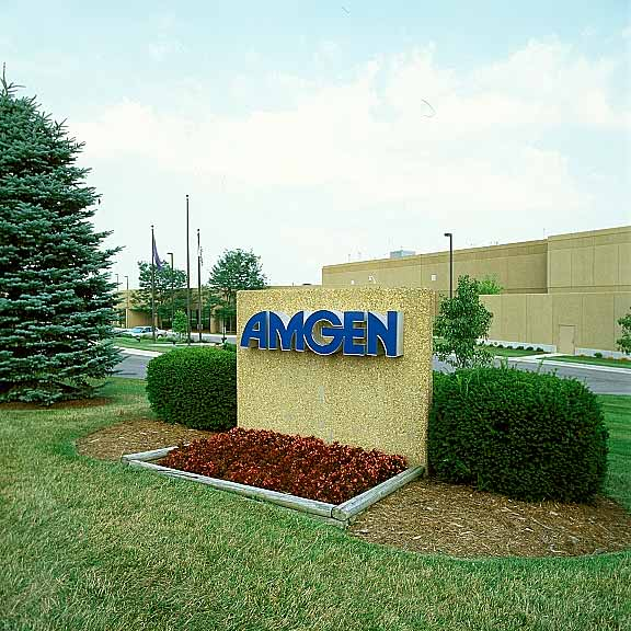 A Grass-Reinforcement System was installed in the fire lane access areas at Amgen Headquarters, Louisville, Kentucky, using Grasspave2.