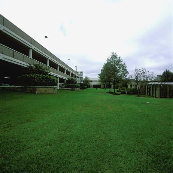 Permeable-Grass Paving was installed in the fire lane access areas at New Hanover Regional Medical Center in Wilmington, North Carolina, using Grasspave2.