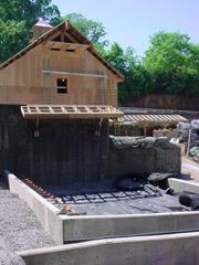 "Drainage Mats were installed in the children's sand-box at the Knoxville Zoo's ""Kid's Cove"" using Draincore2."