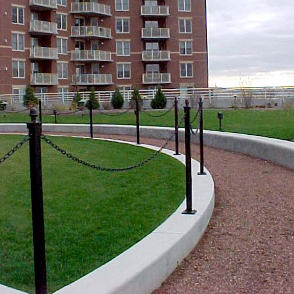 Permeable Pavers were installed in the trails at Metropolitan Place Condominium Complex in Madison, Wisconsin, using Gravelpave2.