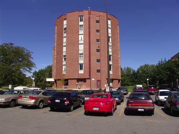 Rainwater Storage was installed at Boise State University, Barnes Towers Dorm, Boise, Idaho, using Rainstore3.