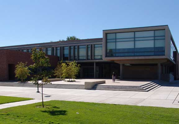 Porous-Grass Pavement was installed in the emergency access and pedestrian areas at Boise State University, Student Recreation Center, Boise, Idaho, using Grasspave2.