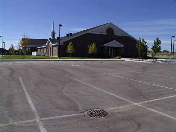 A Subsurface Cistern was installed at the Landover LDS Church in Eagle, Idaho, using Rainstore3.