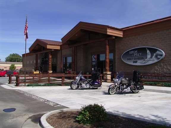 Underground-Water Storage was installed at Caldwell Harley-Davidson Motorcycles in Caldwell, Idaho, using Rainstore3.