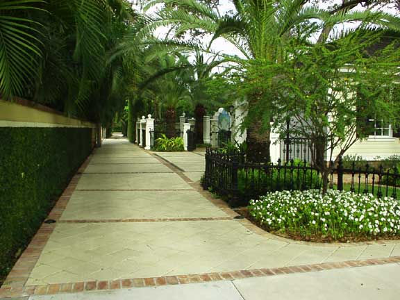 Subsurface-Stormwater Detention was achieved at the Abdo Residence, Fort Lauderdale, Florida, using Grasspave2.