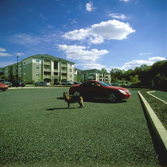 Aggregate Paving was installed in the parking lots at Summit Valleybrook Apartment Homes in Concordville, Pennsylvania, using Gravelpave2.