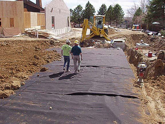 A Subsurface-Cistern was installed at the Good Shepherd Episcopal Church, Centennial, Colorado, using Rainstore3.