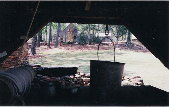 Grass Paving was installed on the Jarrell Plantation Historic Site in Juliette, Georgia, using Grasspave2.