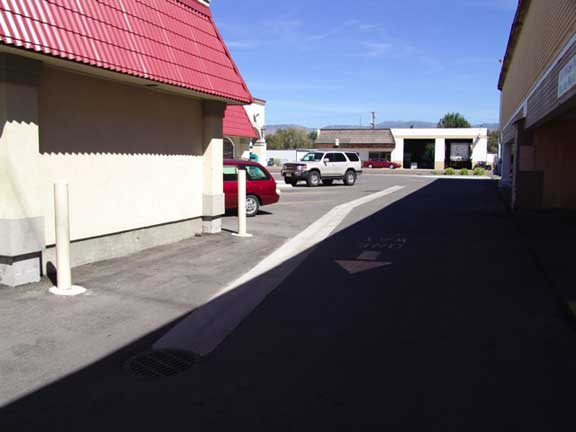 A Subsurface Cistern was installed at Chapala Mexican Restaurant #2, Garden City, Idaho, using Rainstore3.