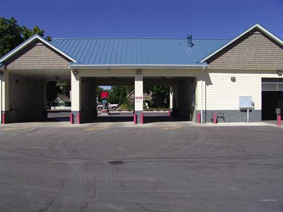 An Underground-Stormwater Chamber was installed at Star Merc Car Wash, Star, Idaho, using Rainstore3.