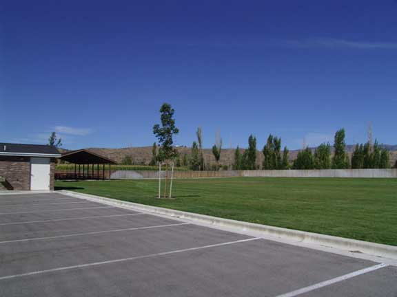 An Underground-Stormwater Chamber was installed at the Landover LDS Church in Eagle, Idaho, using Rainstore3.